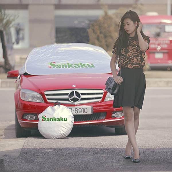 Bạt Che ô Tô Cho Loại Xe Cao Cấp (Mercedes, BMW, Audi)