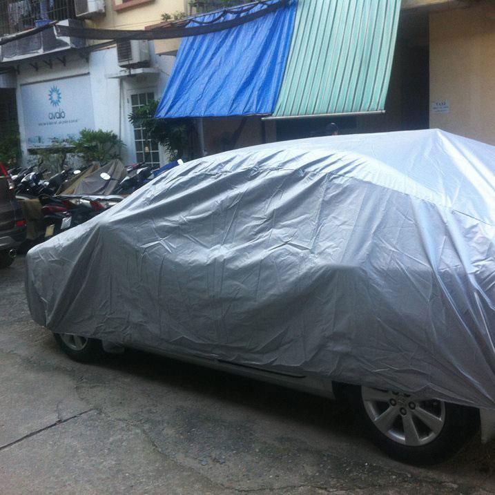 Bạt Phủ Xe ô Tô 4 Chỗ Tại Giáp Bát