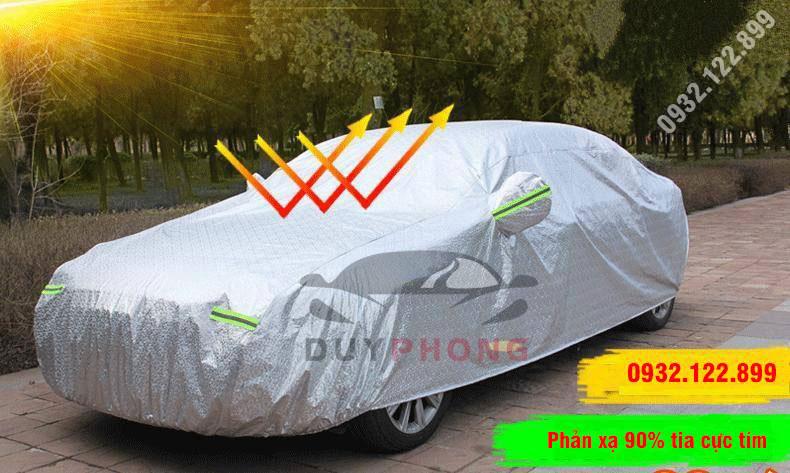 Bạt phủ xe 3D cách nhiệt